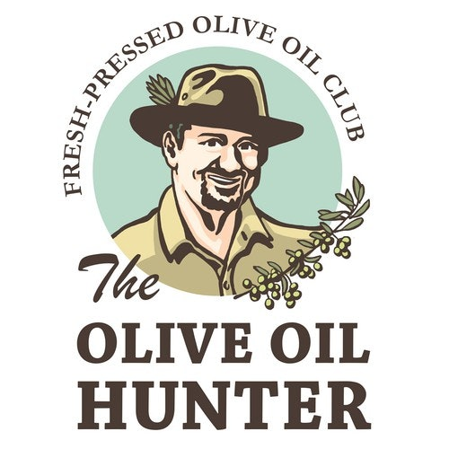 Olive oil logo with the title 'Olive oil logo'