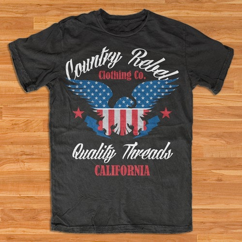 Country t-shirt with the title 'Country Rebel Clothing Co. - Graphic Tee'