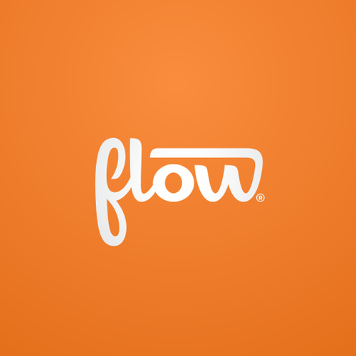 Social logo with the title 'Logo for Flow'