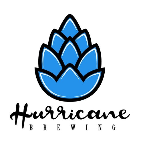 Barley logo with the title 'Hurricane Brewing'