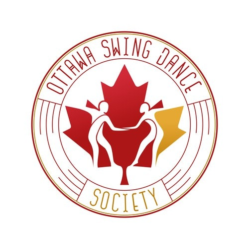 Society logo with the title 'Logo concept for Ottawa Swing Dance Society'