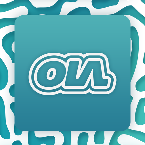 Typographic logo with the title 'OLA Apparel'