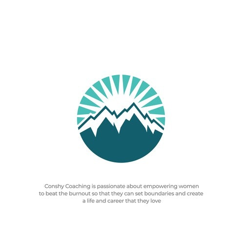 Peak logo with the title 'Conshy Coaching'