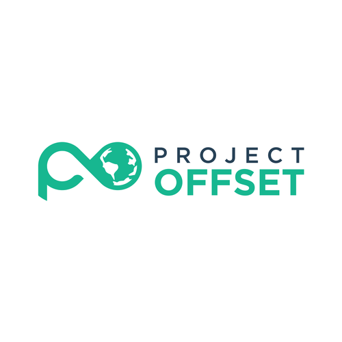 Earth logo with the title 'Project Offset logo'