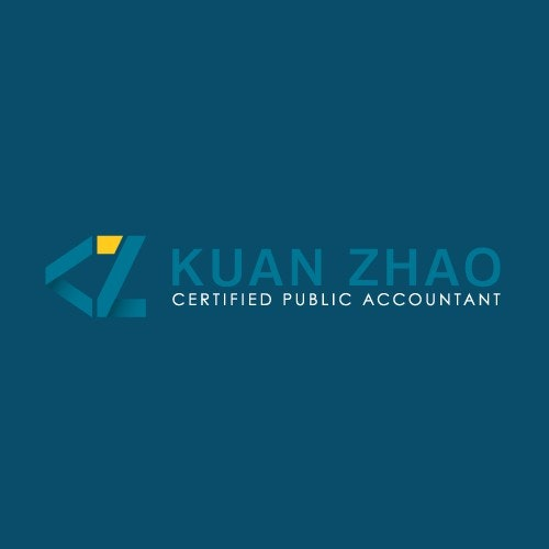 Accounting logo with the title 'Abstract symbol for Kuan Zhao'