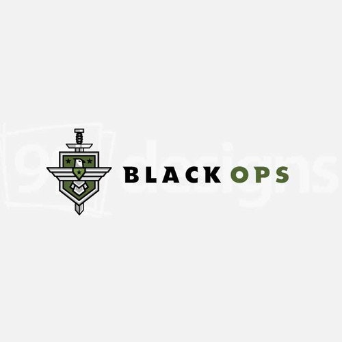 Veteran logo with the title 'Black Ops Logo'