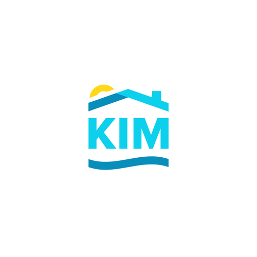 Ocean logo with the title 'Kim Real Estate - Miami'