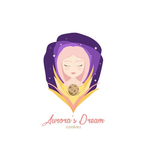 Dream logo with the title 'Aurora's Dream'