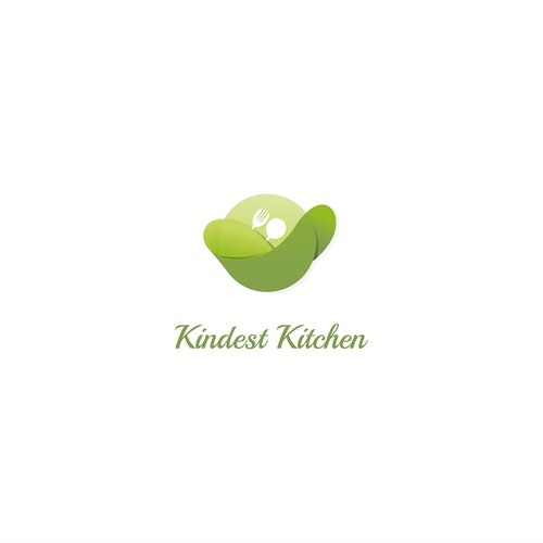 Kitchenware logo with the title 'Logo concept for a food range logo'