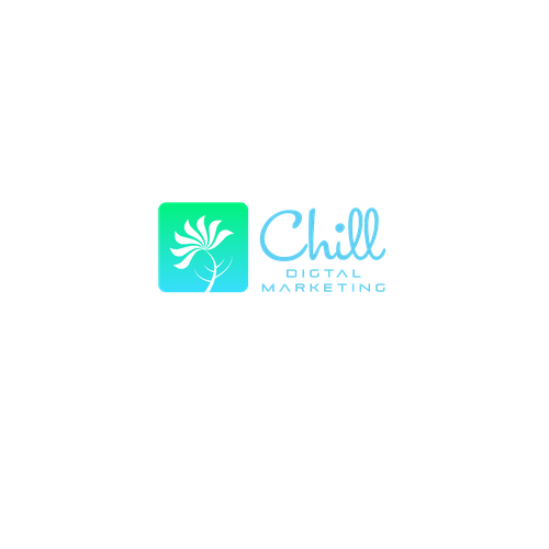 Digital marketing logo with the title 'Logo for Chill marketing'