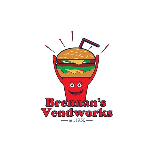 Soda logo with the title 'Brennan's Vendworks'