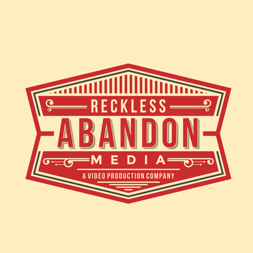 Video production logo with the title 'Retro Logo Design for Video Production Company'