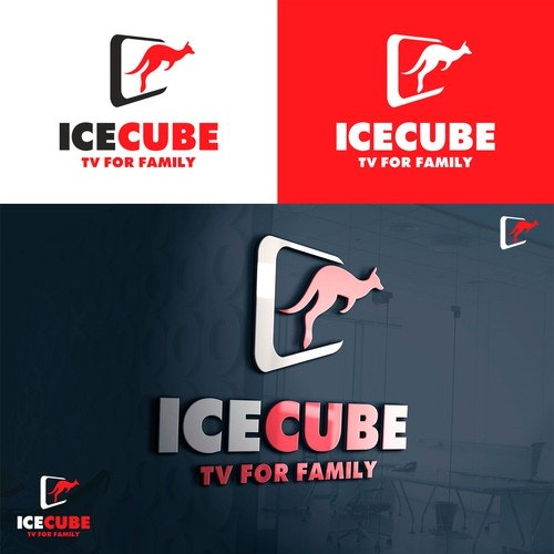 Cube logo with the title 'ICECube TV'