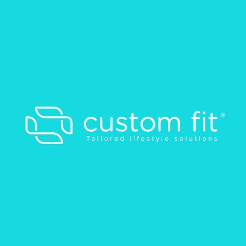 Frame logo with the title 'Custom Fit'