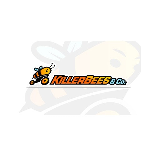Motorcycle logo with the title 'KilerBees '