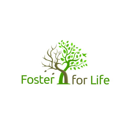 Healing logo with the title 'Foster for Life'