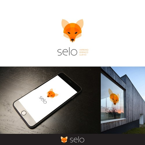 Head logo with the title 'Logo Design for selo'