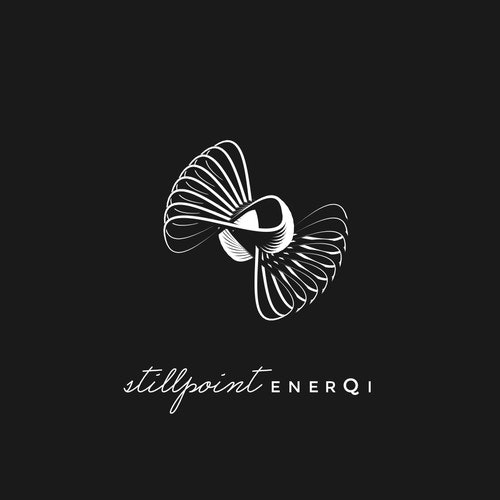 Energy logo with the title 'Organic/geometrical mark for alternative healing practice'