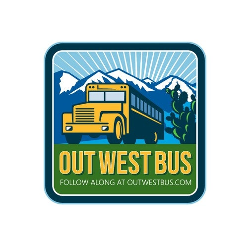 Colorado logo with the title 'Out West Bus'