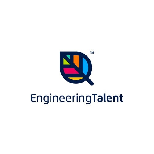 Sophisticated logo with the title 'Engineering Talent'