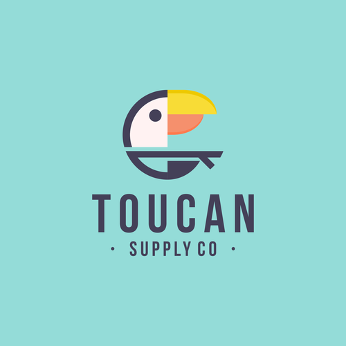 Toucan logo with the title 'Toucan'