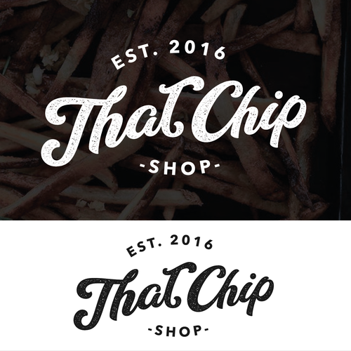 Chip logo with the title 'That Chip shop'