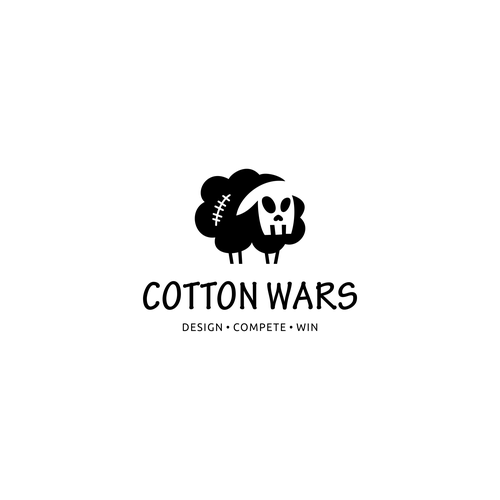 Brand logo with the title 'COTTON WARS'