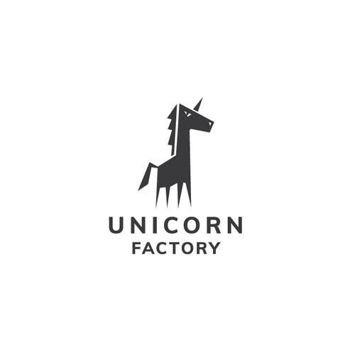 Mythology logo with the title 'UNICORN'
