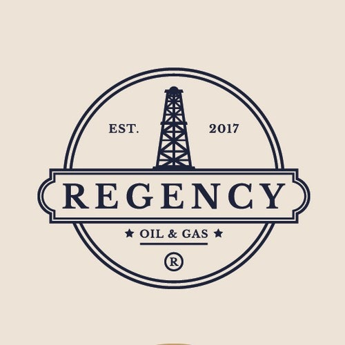 Gas logo with the title 'Regency'