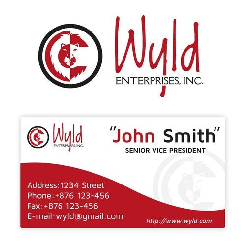 Copywriting logo with the title 'Create a Logo/Brand identity for Wyld Enterprises, Inc.'