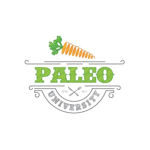 University logo with the title 'Paleo University'