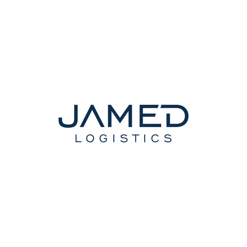 Airplane logo with the title 'JAMED LOGISTICS'