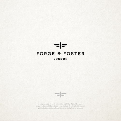 Watch logo with the title 'Forge & Foster Watches'