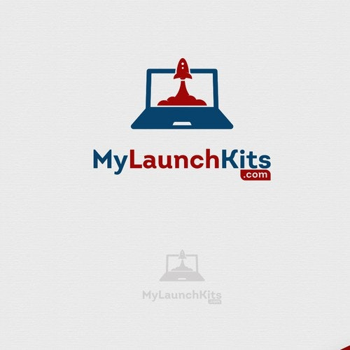 Rocket logo with the title 'LaptopLaunch'