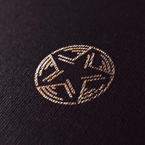 Music logo with the title 'Logo design for VividMusicGroup'