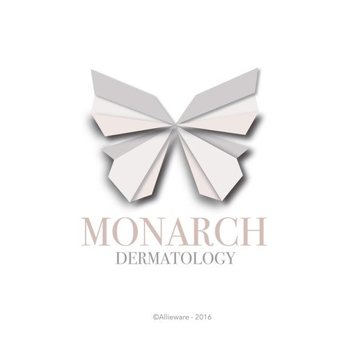Dermatology logo with the title 'Monarch Dermatology'