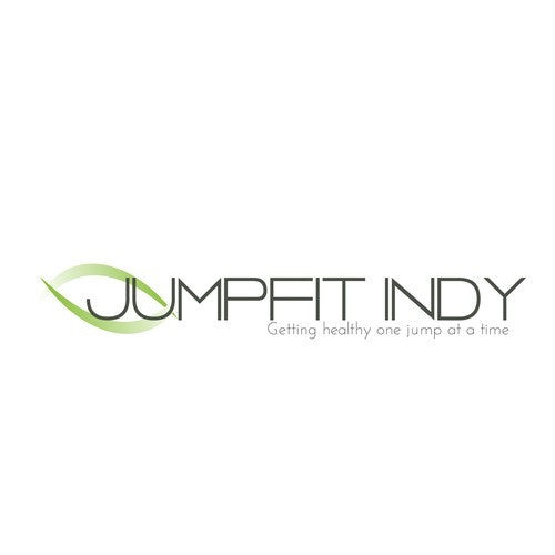 Jumping logo with the title 'Jumpfit Indy'