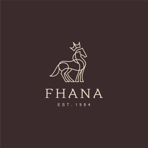 Brand logo with the title 'FHANA'