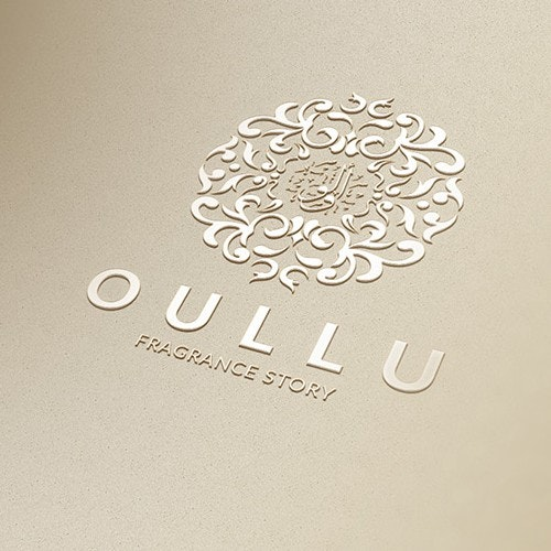Perfume logo with the title 'oullo'