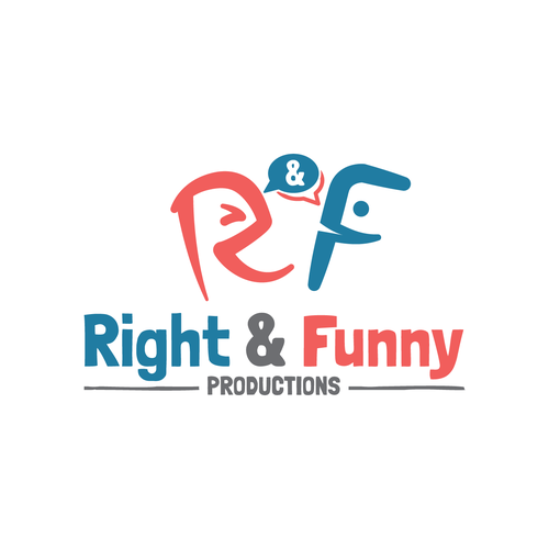 Comedy logo with the title 'Humor and Funny'