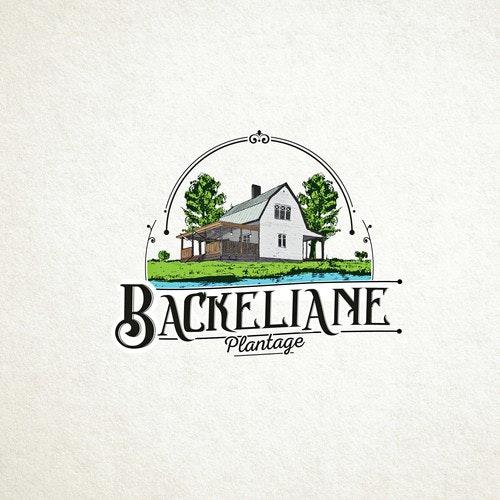 Tree logo with the title 'Logo for Backeliane'