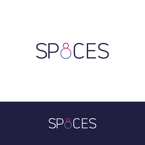 Eight logo with the title 'Typeface for SP8CES'