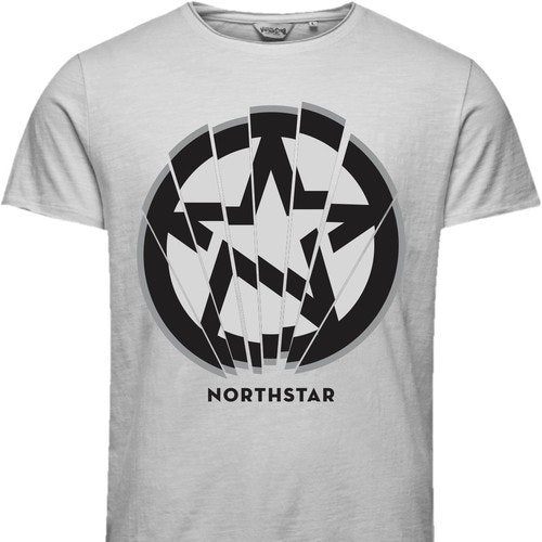 Urban t-shirt with the title 'NORTHSTAR'