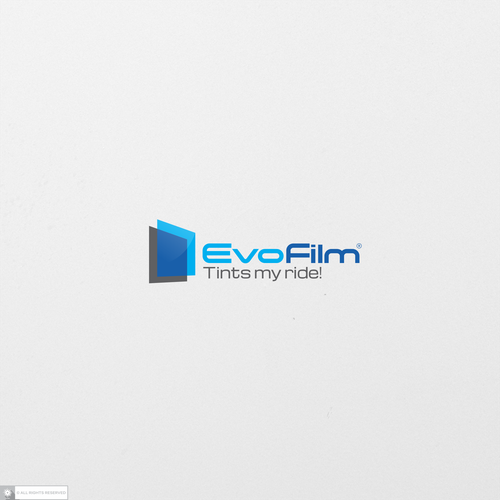 Rider logo with the title 'EvoFilm'