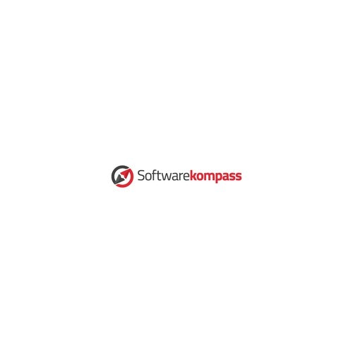 Compass logo with the title 'Logo Design for Softwarekompass'