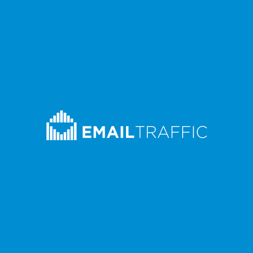 Mail logo with the title 'Logo concept for an email marketing'