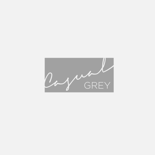 Casual logo with the title 'winning logo for Casual Grey'