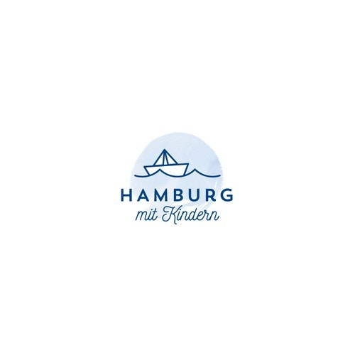 Vacation logo with the title 'Hamburg mit Kindern'