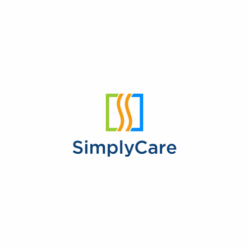 Job logo with the title 'Simply Care'