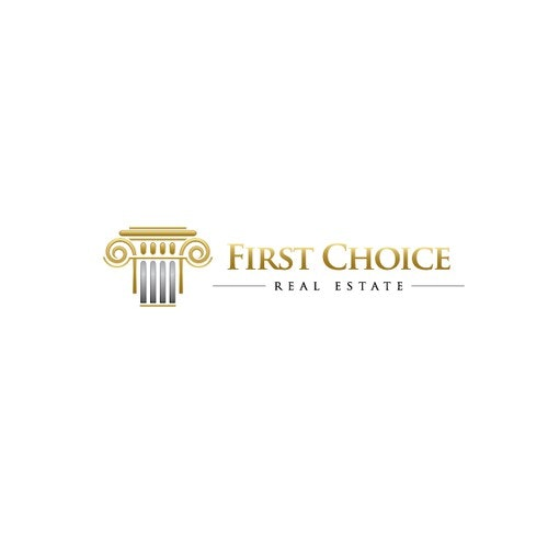 Agency logo with the title 'First Choice'